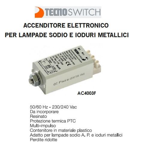 Accenditore Lampade Ioduri Metallici.Dettagli Su Accenditore Elettronico Per Lampade Hqi Hps 70 400w Ioduri Metallici E Sodio Tec
