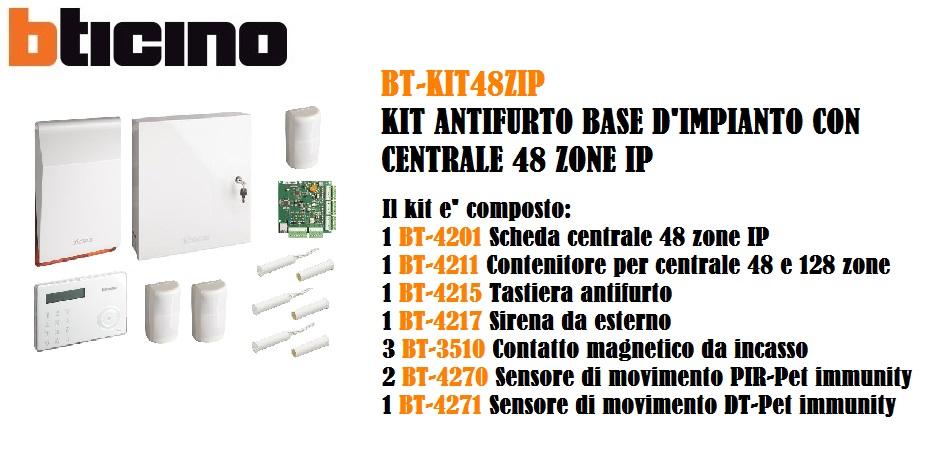 BTicino 4201 Scheda Centrale 48-IP